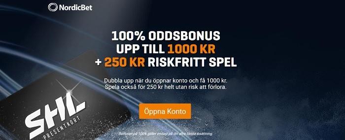 Spela betting online hos Nordicbet