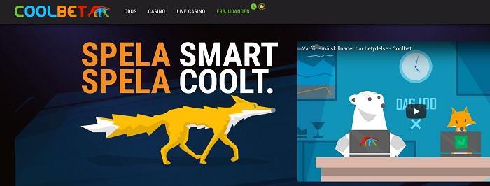 Coolbet är spelbolaget med högst återbetalning